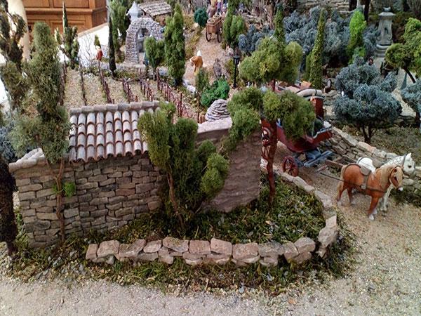 la végétation dans une crèche