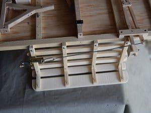 partie métallique du freins de la grande charrette