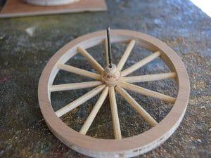 roue de la grande charrette terminer