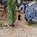 sol et végétation crédible dans la crèche