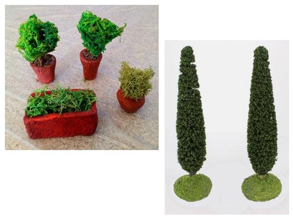 végétation 100 synthétique
