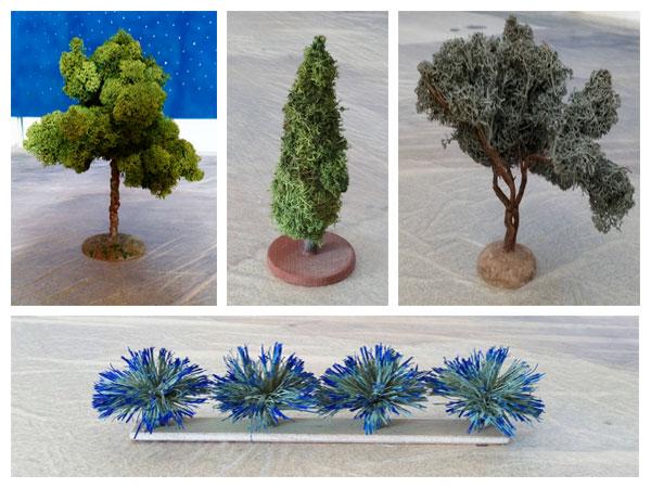végétation hybride