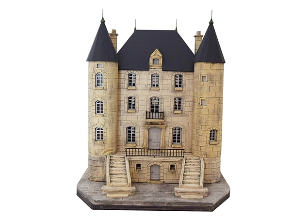 château façade