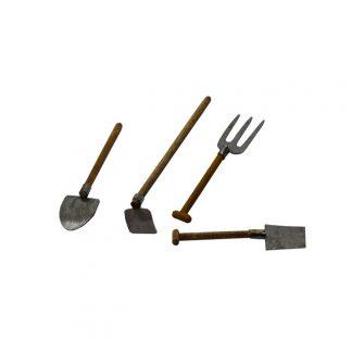 Lot outils jardinage pour santon