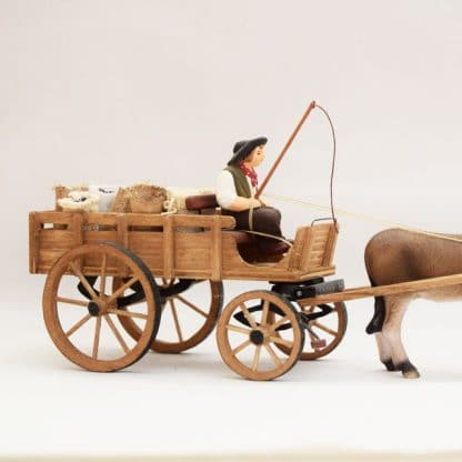 lot de quatre roues sur chariot