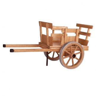 petite charrette couleur bois