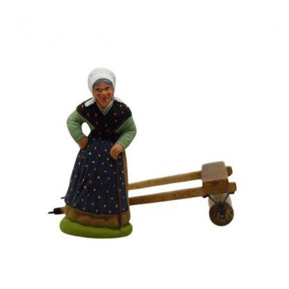 rouleau agricole avec santon