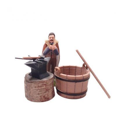 Kit ferronnerie avec santon