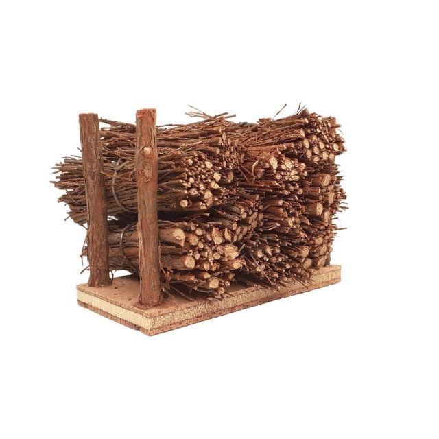 mini-fagots de bois