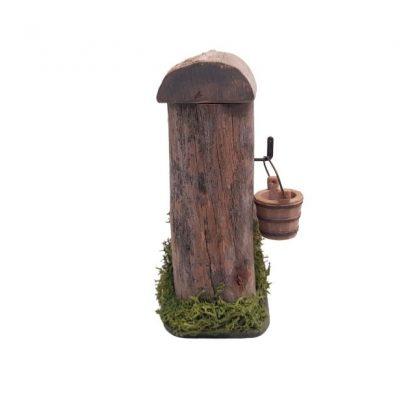 fontaine de berger miniature arrière